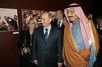 Governor Salman bin Abdulaziz with Vladimir Putin in 2007