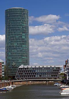 Westhafen Tower  Wikipedia