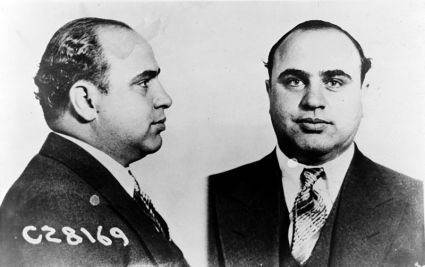 Al Capone Mug Shot from Dept of Justice