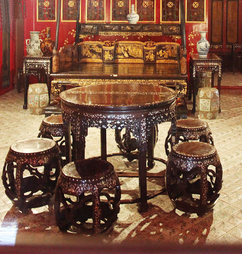 FileChinese style furniture in Bang Pa In Chinese style