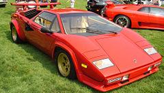 Lamborghini Countach LP500S, referente superdeportivo de finales de los 70 y decada de los 80.