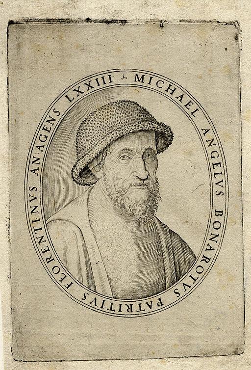 Giulio Bonasone Michelangelo Buonarroti 1548 ubs G 0883 II