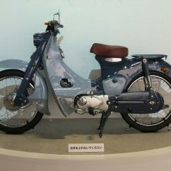 Wiring Diagram Of Motorcycle Horn Boat Dc Honda Super Cub - Wikipedia