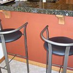 Kitchen Bar Stools L Type Small Design Stool Wikipedia Modern In Front Of A Counter
