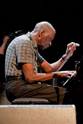 English: Muhal Richard Abrams, moers festival 2009