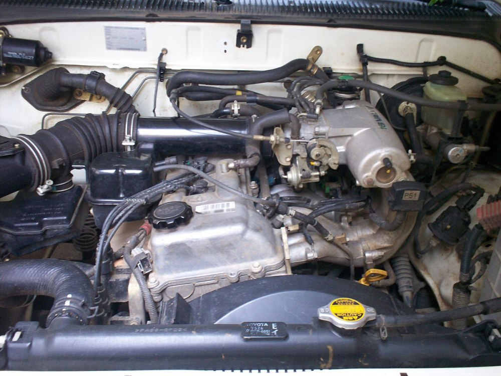 medium resolution of toyota rz engine wikipedia 2003 toyota tacoma engine diagram