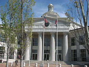 Douglas County Courthouse, Georgia, USA