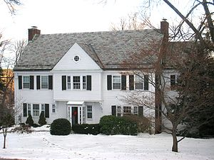 Former home of the noted American poet Wallace...