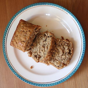 Walnut-Bourbon Banana Bread - recipe.