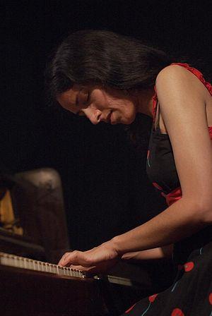 Jazz pianist Zoe Rahman