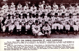 An image of the 1946 World Series champion St....