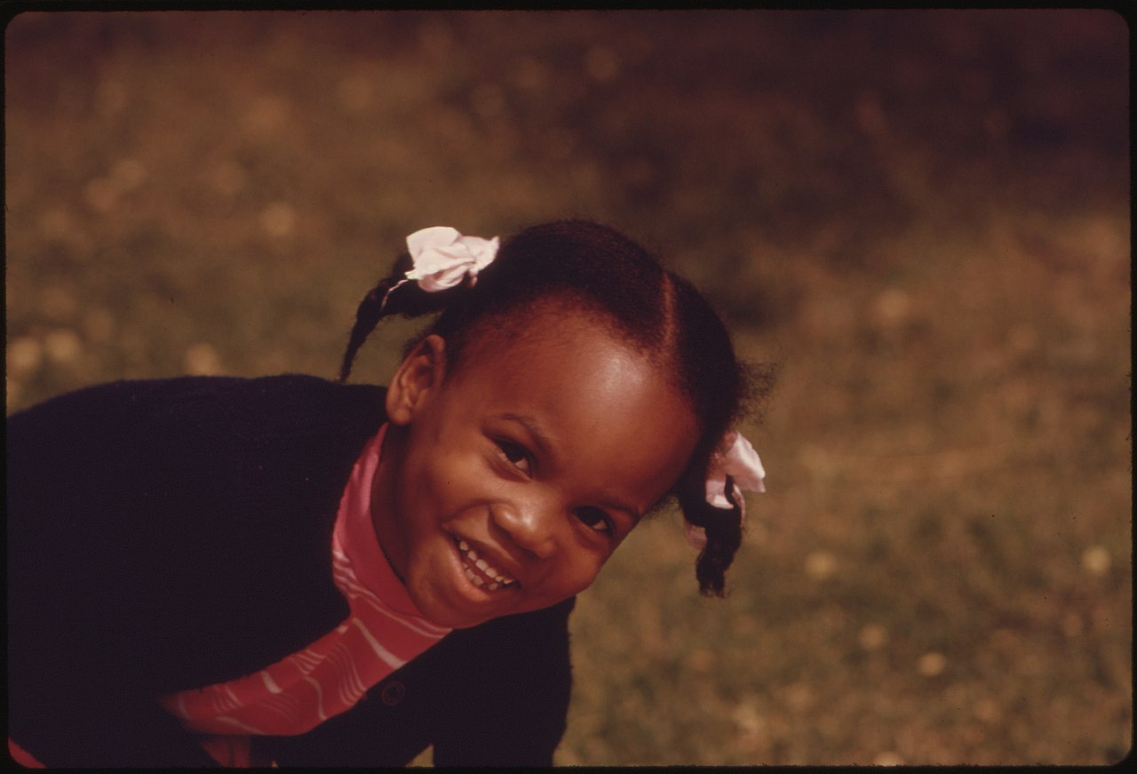 FileA YOUNG BLACK CHILD ONE OF THE NEARLY 12 MILLION