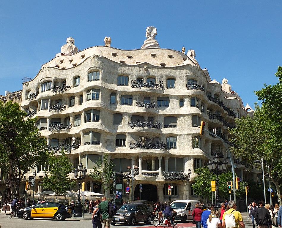 FileBarcelona Casa Mila 001jpg  Wikimedia Commons