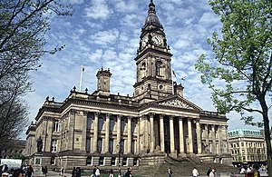 Bolton Town Hall, Bolton, Greater Manchester, ...