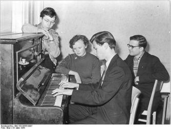Leipzig, ABF-Unterricht für ausländische Studenten, Quelle: Wikimedia / Deutsches Bundesarchiv