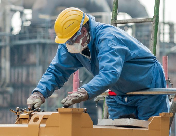 Cologne Germany Industrial-work-with-Personal-Protective-Equipment-02