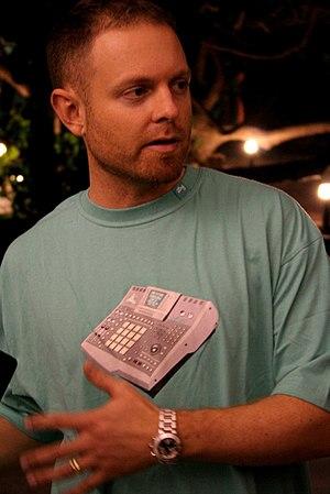 Photograph of DJ Shadow