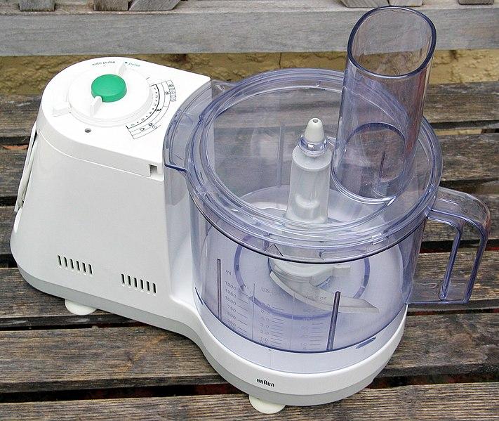 Robot de cocina, imagen de Wikipedia
