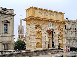 Porte du Peyrou.