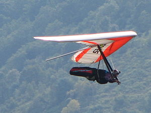 Hang gliding Labor Day 2006 at Hyner View Stat...
