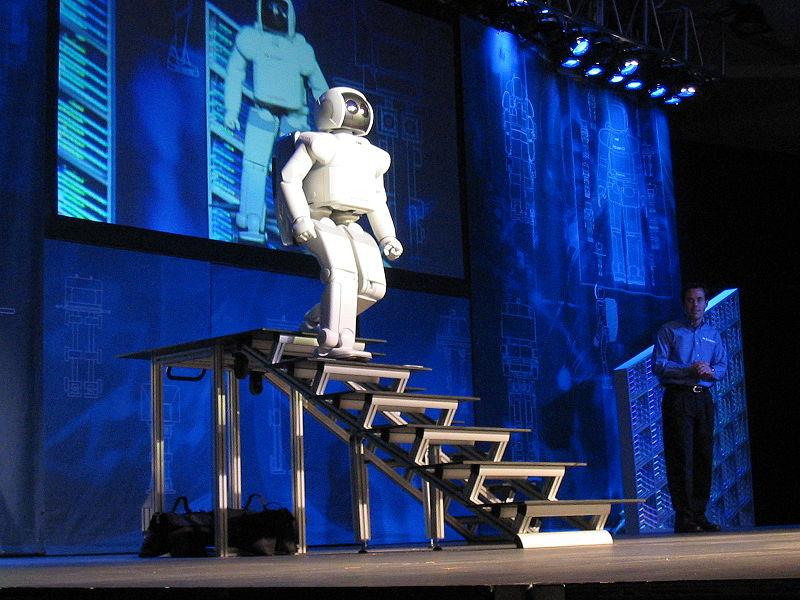 File:Honda ASIMO Walking Stairs.JPG