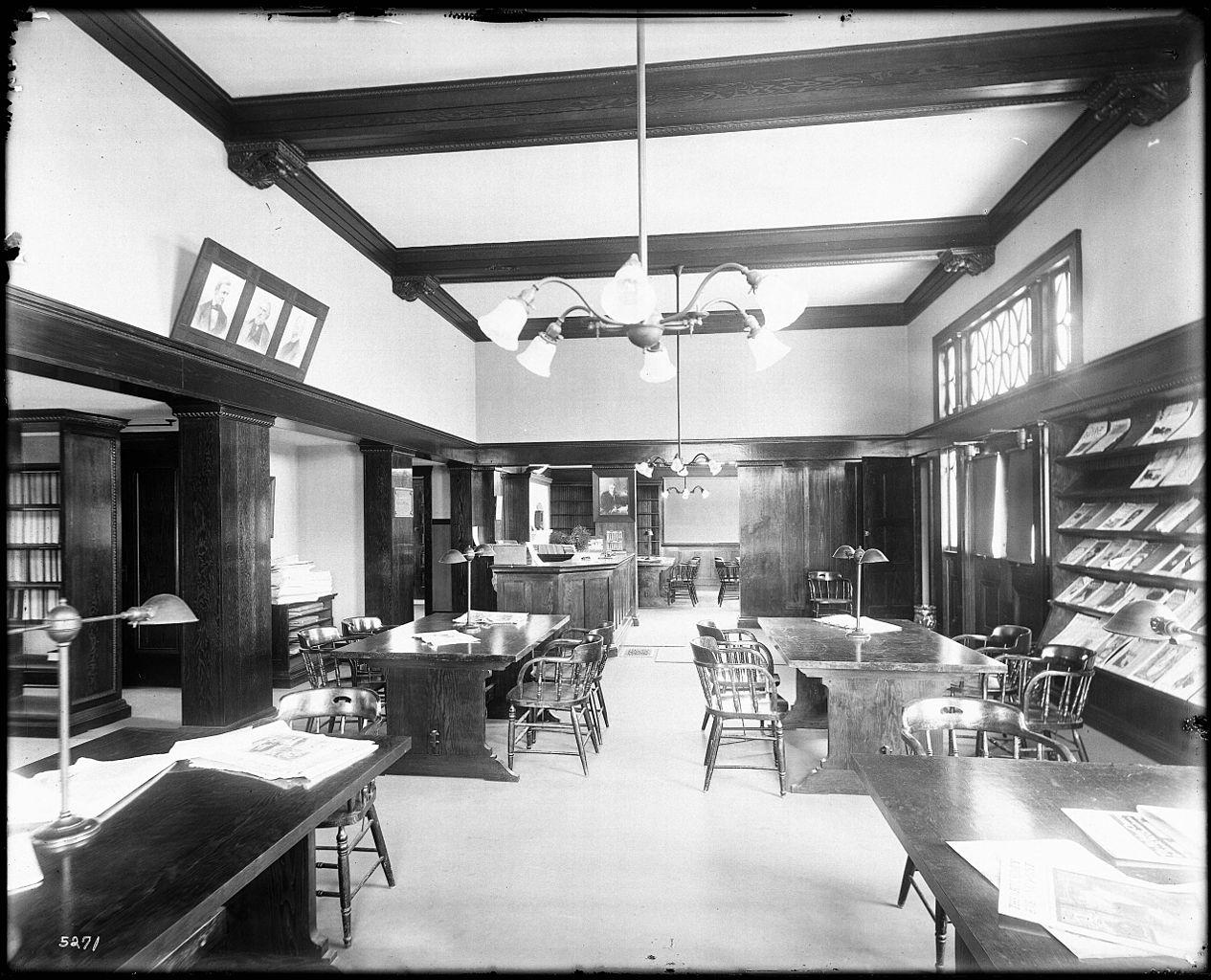 File Interior View Of The Covina Public Library Carnegie