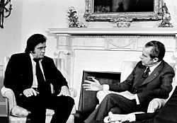 Cash advocated prison reform at his July 1972 meeting with U.S. president Richard Nixon