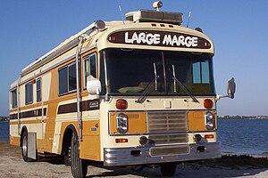 """English: """"Large Marge"""", a 1980 Blue ..."""