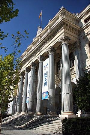 Bolsa de Madrid, España. 2008.