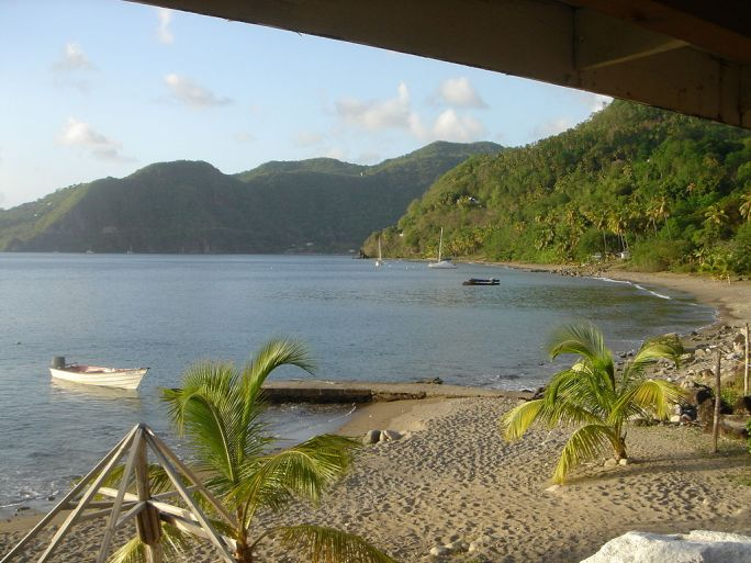 Malgretout Beach, Saint Lucia