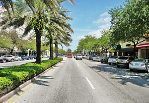 Miracle Mile in Downtown Coral Gables