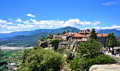 Monastery of St. Stephen at Meteora