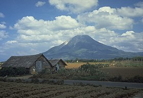 Gunung Sinabung  Wikipedia bahasa Indonesia ensiklopedia