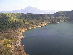 Taal Volcano (Batangas, Philippines).