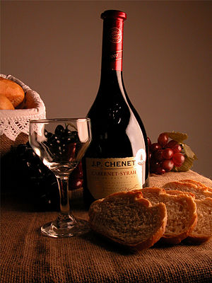 J. P Chenet French wine, a popular UK grocery ...
