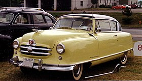 1951 Nash Rambler yellow 2-door hardtop.jpg