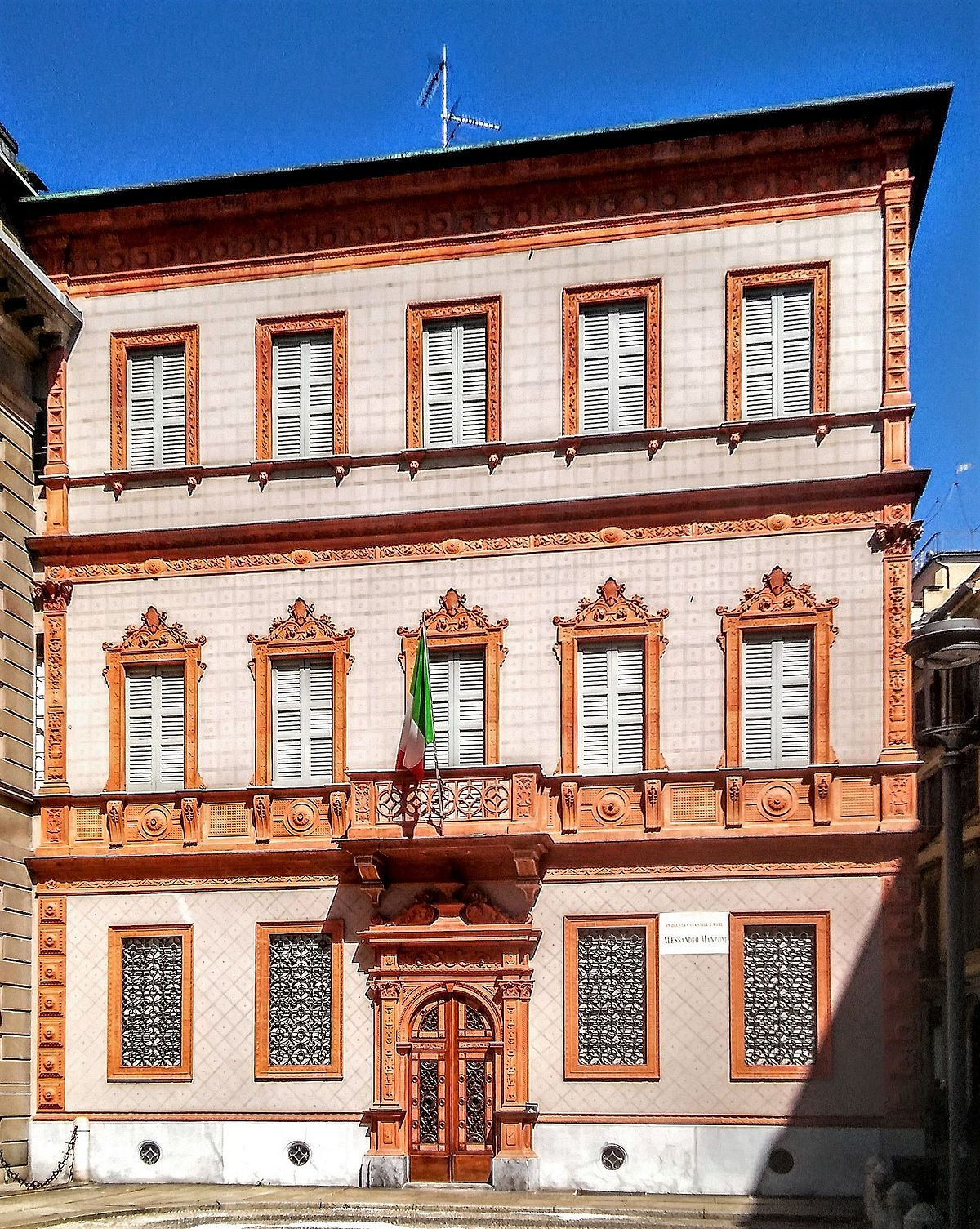 Casa Manzoni  Wikipedia