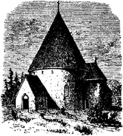 agby kyrka söder om Kalm