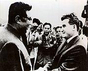 Polare med Kim Il-sung