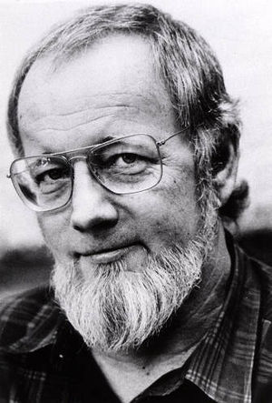 Donald Barthelme, an American author and a co-...