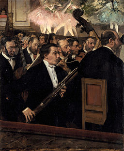 Edgar Degas - The Orchestra at the Opera - Google Art Project 2