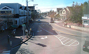 The Street in Freeport, Maine