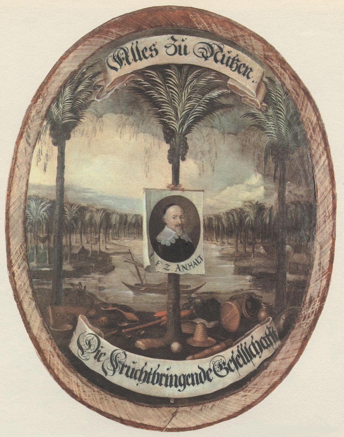 Fruchtbringende Gesellschaft  Wikipedia