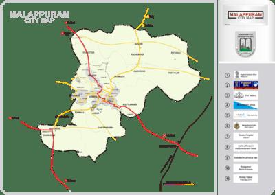 Malappuram Map With Roads