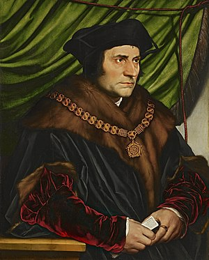Portrait of Sir Thomas More (Holbein)