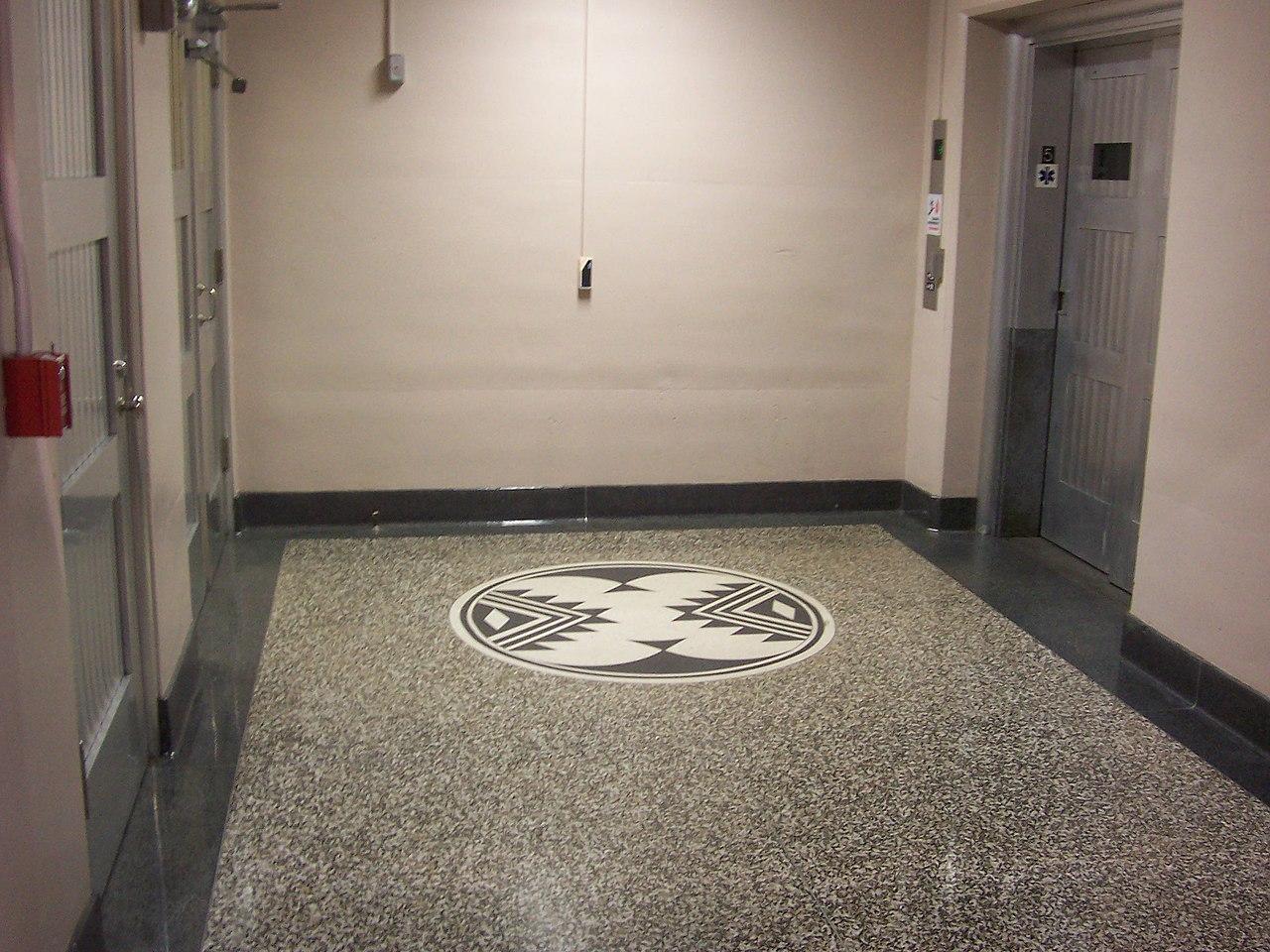 best granite colors for living room india and kitchen divider design file hoover dam tile floor jpg wikimedia commons