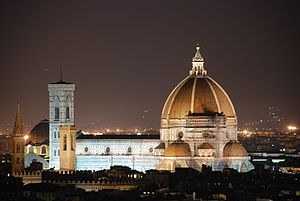 English: Il Duomo, in Florenece, Italy seen at...