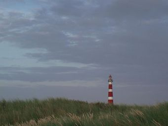 Lighthouse Ameland distance