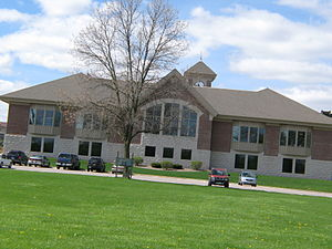 The Hatch Public Library in Mauston, Wisconsin...