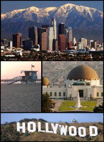 Los Angeles California Hollywood